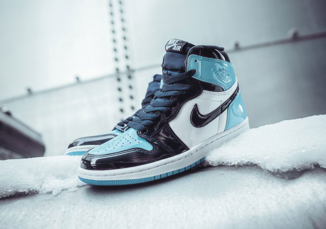 "The Air Jordan 1 Retro High OG ""UNC"" Blue Chill"